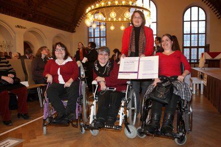 Preisverleihung Anita Augspurg Preis