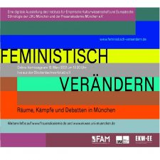 Flyer Feministisch verändern