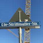 Straßenschild Ute-Strittmatter-Straße